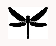 Hot Sale Dragonfly Sticker Car Window Truck Bumper Auto SUV Door Laptop Kayak Vinyl Decal 9 Colors