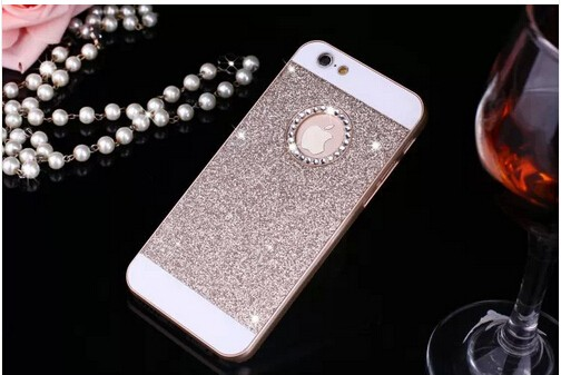 Luxury diamond bling case coque etui for apple iphone 4 4s 5 5s 6 6s plus 7 7 Plus glitter bling cover capa carcasa For iphone 7