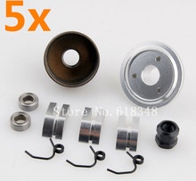 Buy Wholesale 5Sets/Lot Bell Gear Flywheel+14T Clutch Shoe+Spring+Bearing Assembly Sets 83013 Alloy HSP 1:8 RC Nitro Engine Parts for $62.31 in AliExpress store