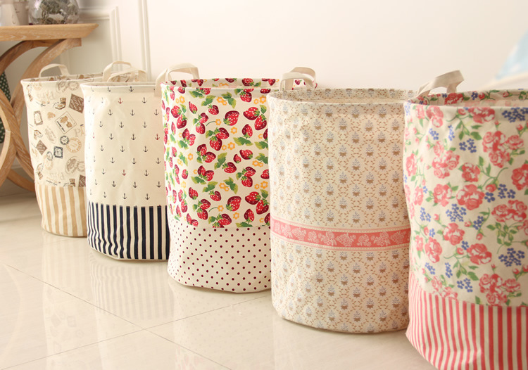 Корзины для хранения своими руками из ткани