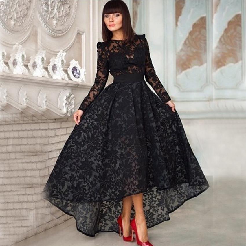 Popular Black Vintage Prom Dress-Buy Cheap Black Vintage Prom ...
