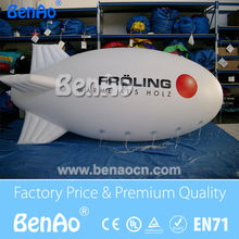 AO062 Free shipping Attractive cheap inflatable advertising balloons / big inflatable air blimp/ air ship/ helium balloon(China (Mainland))