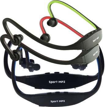 USB Sport Running MP3 Music Player Wireless Headset Headphone Earphone TF Slot
