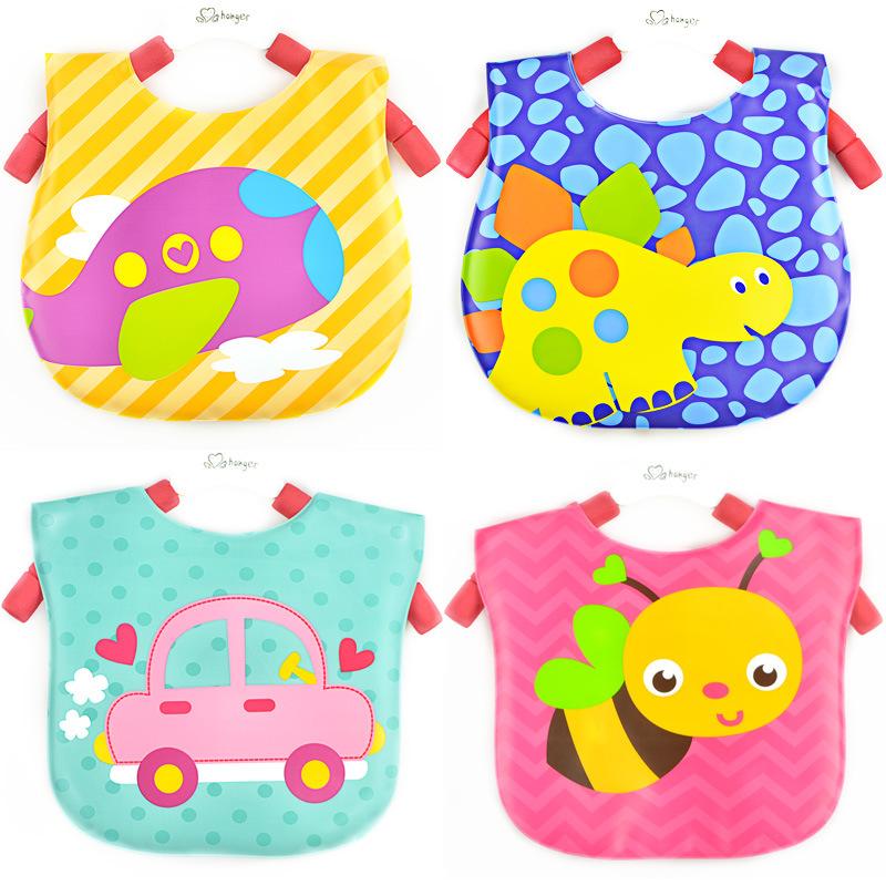 2015 fashion EVA plastic bibs character waterproof baby bibs durable easy cleaning baby bibs wholesale various design to choose<br><br>Aliexpress