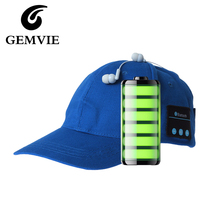 100% Cotton Wireless Bluetooth Baseball Hat Earphone Bluetooth Music Cap For Women And Men Casual Caps 5 Colors(China (Mainland))