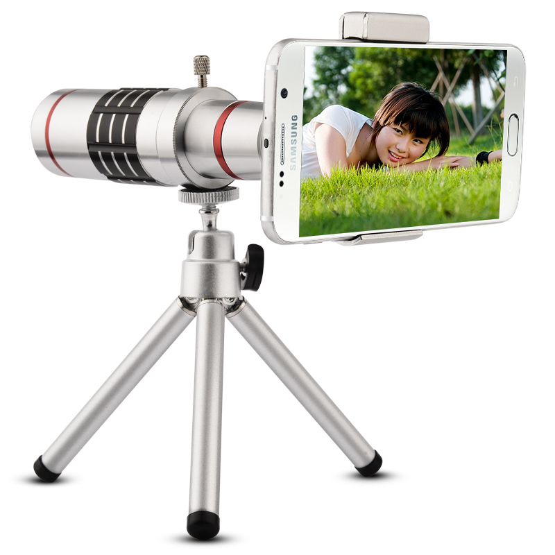 18X Universal Telephoto Lens Mobile Phone Optical Zoom Telescope Camera with Tripod For iPhone Sumgung HTC Huawei(China (Mainland))