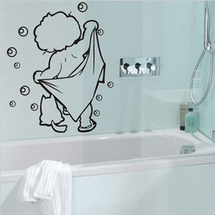 Gold medal wall stickers bathroom kitchen cabinet diy wall - Stickers pour salle de bain ...