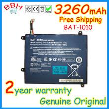 original new BAT-1010 battery for Acer Iconia A500 A501 A500-10S32u A500-10S16u BT.00203.008 BT00203008 3260mah 3.7V
