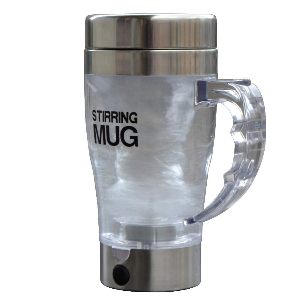 350ML Automatic Electric MUG Drinkware Plastic Sports Drink Shaker Water Bottle Self Stirring Vortex Coffee Tea Smart Mixer Cup(China (Mainland))