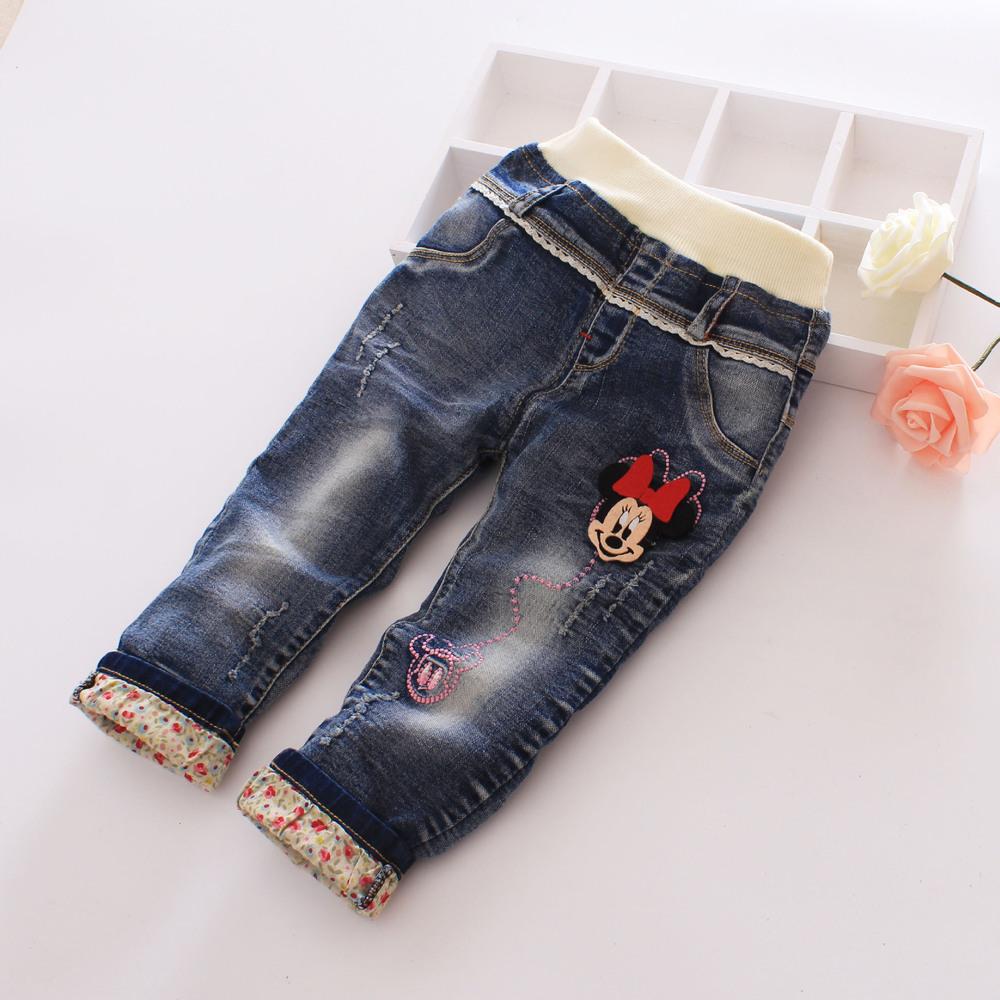Здесь можно купить  Spring 2016 Girls Panties cotton trousers washed jeans  Детские товары