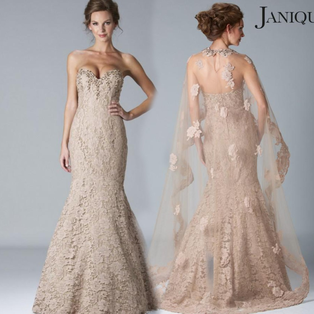 2016 Sweetheart Lace Mother Of The Bride Dresses Mermaid Floor Length Long Sleeves With Jacket