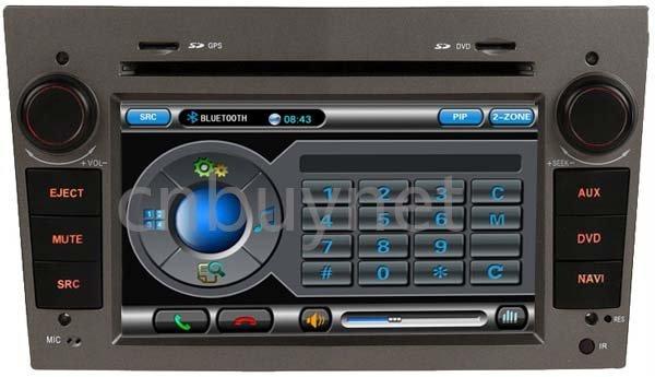Opel Meriva 06-09 GPS Navigation DVD Radio,Ipod, Audio multimedia player