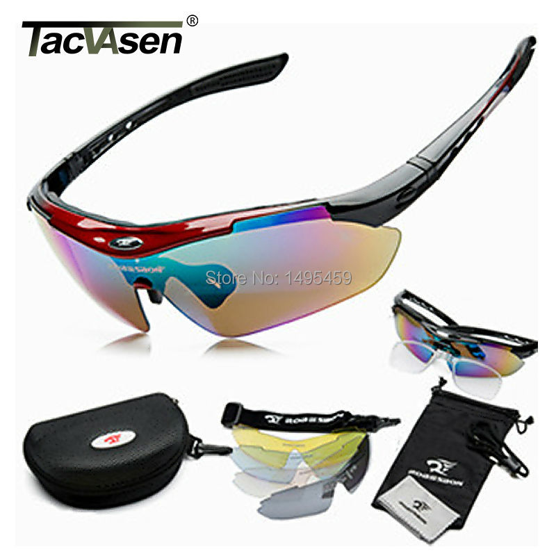 Men Women Sun Glasses Outdoor Sports Shade Eyewear Goggle Sunglasses Driver 5 Lenses Glass Sunglass Hot RARB-002(China (Mainland))