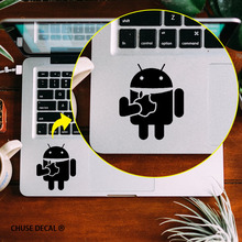 """Buy Android Robot Touchpad Decal Laptop Skin Trackpad Sticker 11"""" 12"""" 13"""" 15 """" Apple Macbook Air / Pro / Retina Computer Sticker for $5.87 in AliExpress store"""