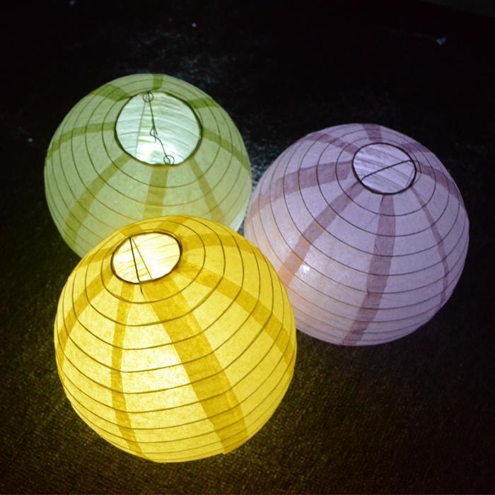 "20pcs/Lot 20cm (8"" ) Round Paper Lantern White Paper Lanterns Lamps Festival Wedding Decoration Party Sky Lanterns(China (Mainland))"