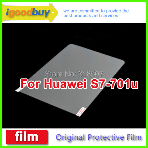 2014 100% original Huawei mediaPad S7-701u 601u 189*117mm clear screen Protector 7inch protective film tablets - igoodbuy: Accessories & Tablets Smart Phone Store store
