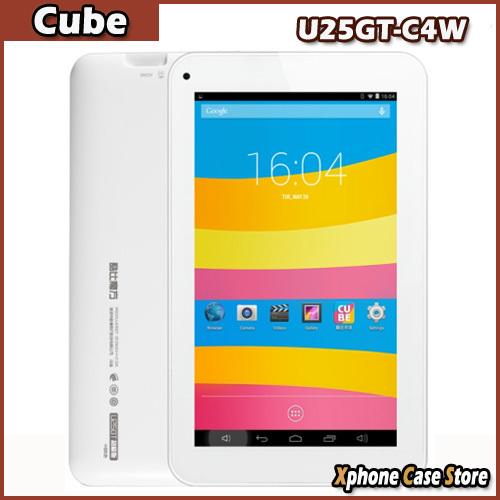Original Cube U25GT-C4W/U25GT Super 1GB/8GB 7.0 inch Android 4.4 Tablet PC MTK8127 Quad Core 1.3GHz HDMI GPS WIFI Bluetooth(China (Mainland))
