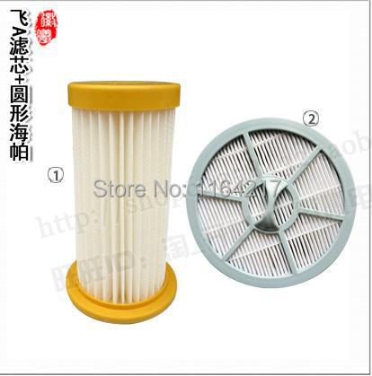 2Pcs/set Vacuum Cleaner filter+ air Outlet HEPA Filter for Philips FC8208 FC8250 FC8260 FC8262 FC8264(China (Mainland))