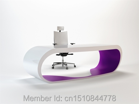 High quality latest MDF wooden executive modern office table with price(China (Mainland))