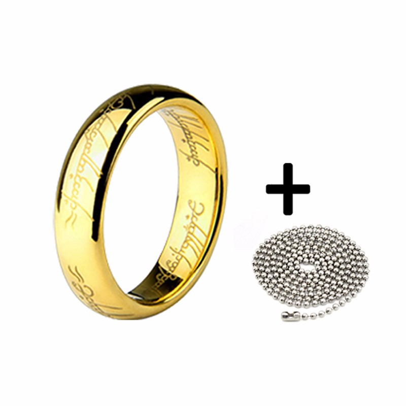 Free-Shipping-The-Lord-of-Rings-Master-Ring-Couple-Ring-for-Men-Titanium-Steel-Manly-Individual (3)