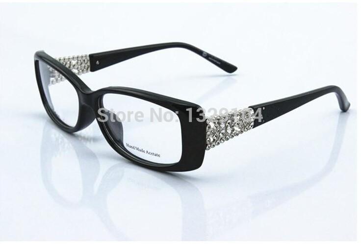 Ladies Eyeglass Frames Rhinestones : 2015 rhinestone glasses cd3184 myopia eyeglasses frame ...