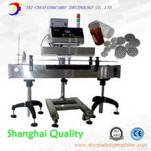 automatic aluminum film sealing machine with rejector,cosmetic/medica/food bottle foil induction machine_online bottle sealer CE(China (Mainland))
