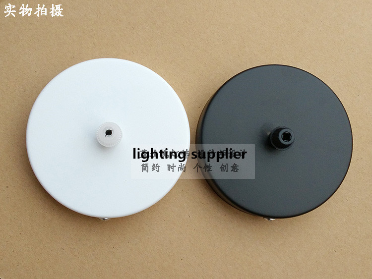 Diameter 100mm FREE Shipping Ceiling Rose Ceiling Canopy For DIY Pendant Light Wall Sconce Mount Ceiling Lamp Base(China (Mainland))