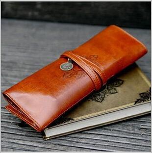 2015 Twilight Retro Bundled Folding Cortex High capacity Women Ladies Cosmetic Cases bag Makeup pouch portable Storage pen Bag(China (Mainland))