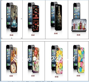 3d Stereoscopic Three-Dimensional Wholesale Or Retail  for iPhone 5 cell phone case free Shipping 053