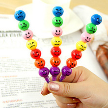 Ограниченной школа поставки C095 корейский версии комикс забавный лицо с покрытием хос 7 цветов мелок для граффити ручка