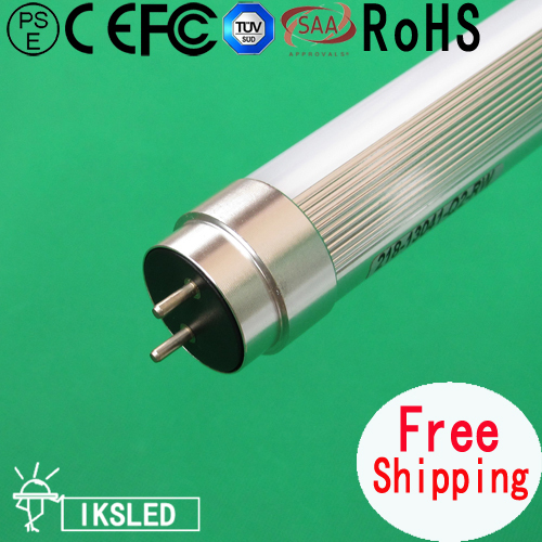 Free shipping t8 0.6m10w High quality High AC85~265V 2PCS/slot 3 year warranty high brightness European Market(China (Mainland))