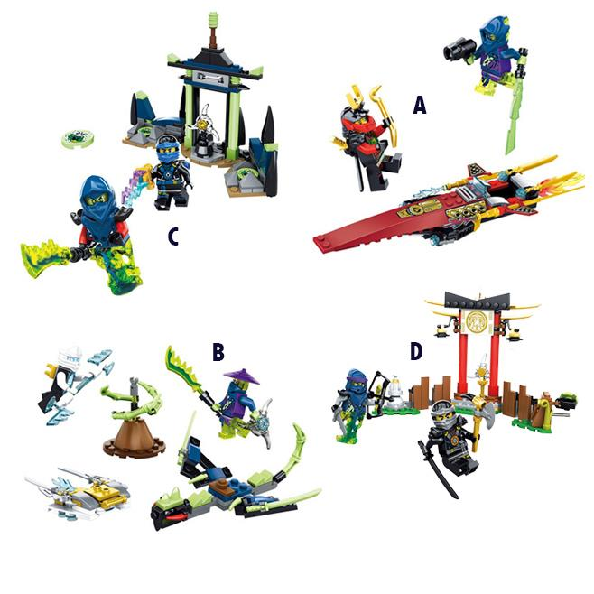 SY Ninja Ninjagoed 4pcs/lot Fight Scenes Enlighten Building Blocks DIY Action Assemble Figure Bricks Toys For Children Legoegoly<br><br>Aliexpress