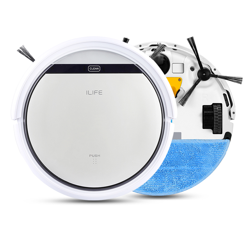 Ilife V5 Automatic Robot Vacuum Cleaner Household Helper Cleaning Floor Machine Sweeper Robot Cleaner Self-Charge Strong Suction(China (Mainland))