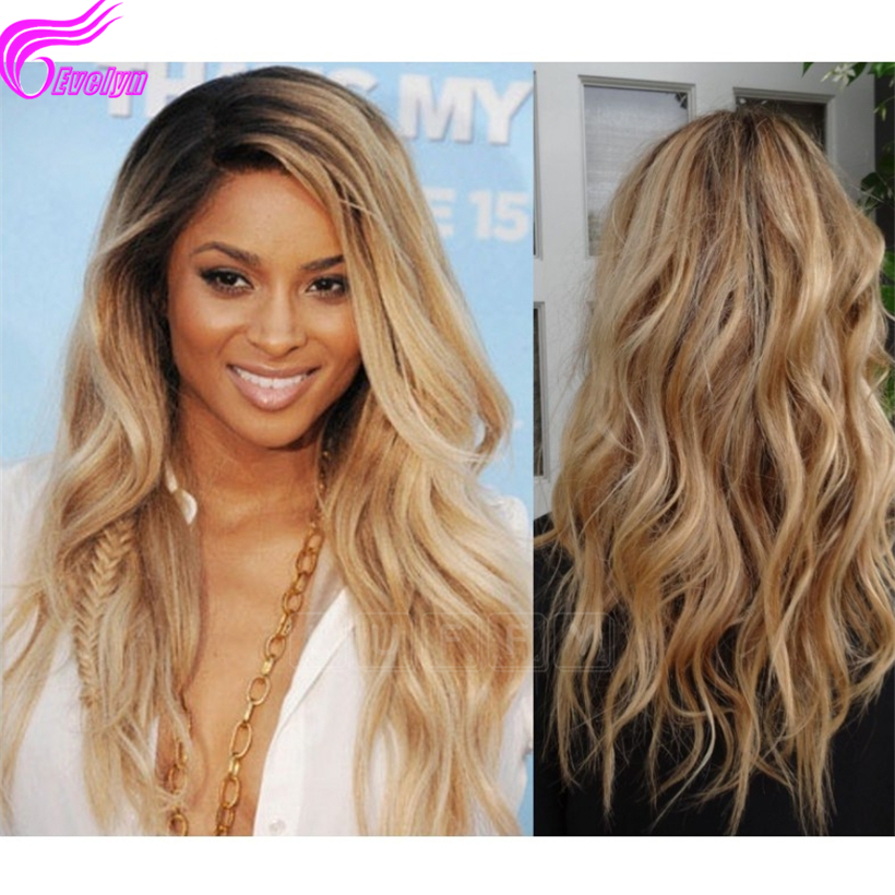 Brazilian body wave ombre lace wigs human hair wig with baby hair glueless full lace wigs 100% unprocessed virgin hair 1b#/27#<br><br>Aliexpress