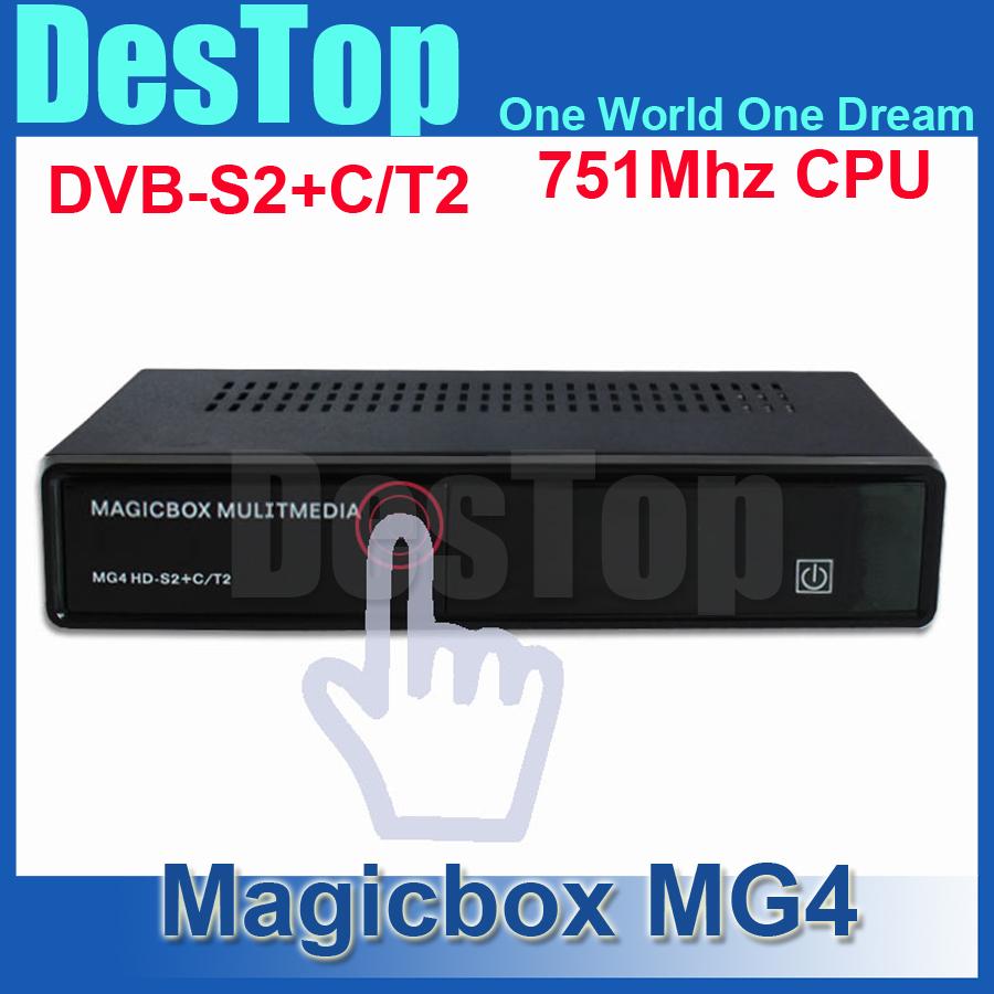 MAGICBOX MG4 HD DVB-S2/T2/C Tuner same as cloud ibox 3 se/zgemma star H2 MAGIC BOX MG4 HD satellite decode 20pcs/lot(China (Mainland))