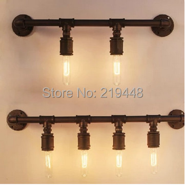 Loft Creative Personality Pipe Wall Sconce Vintage Clothing Industry Bar Cafe Decorative Lights Wall Lights<br><br>Aliexpress