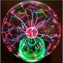 4 inch Plasma Ball magic lamp plasma ball Glass Plasma Ball Sphere USB  control Lightning Light Lamp Party(China (Mainland))