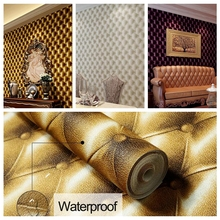 3D Modern Imitation Leather vein wallpaper roll for walls,living room of 3d wall paper,papel de parede roll 3d room(China (Mainland))