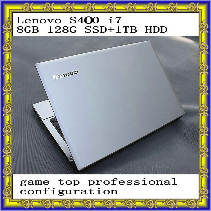 """Lenovo S410 14"""" i7 8GB 128G SSD+1TB HDD Notebook Computer Tablet PC Desktop Computers Laptop Notbook Quad Core Ultrabook(China (Mainland))"""