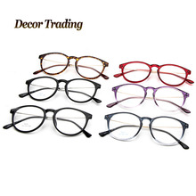 NEW 2015 Fashion Ultra Light Women Men TR90 Glasses Frames Steel Leg Transparent Frame Oculos Coating Lens Eyewear Eyeglass 9353(China (Mainland))