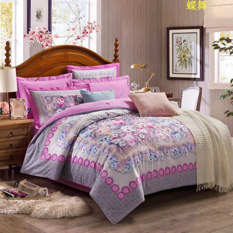 Plantas padr o t xtil de roupas de cama capa de edred o for Textil cama