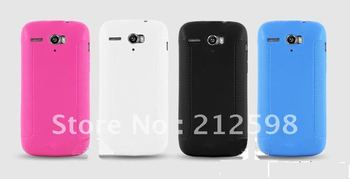 10PCS/LOT, FREE SHIPPING, High Quality TPU Case for Huawei U8836D G500 Case