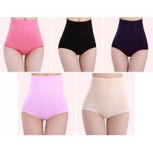 Women High Waist Postpartum Body Sculpting Briefs Seamless Abdomen Hips Panties Underwear #67550(China (Mainland))