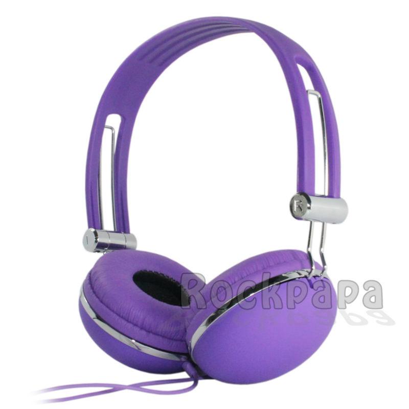 Rockpapa Adjustable Over Ear Funky DJ Style font b Headphones b font Boys font b Kids