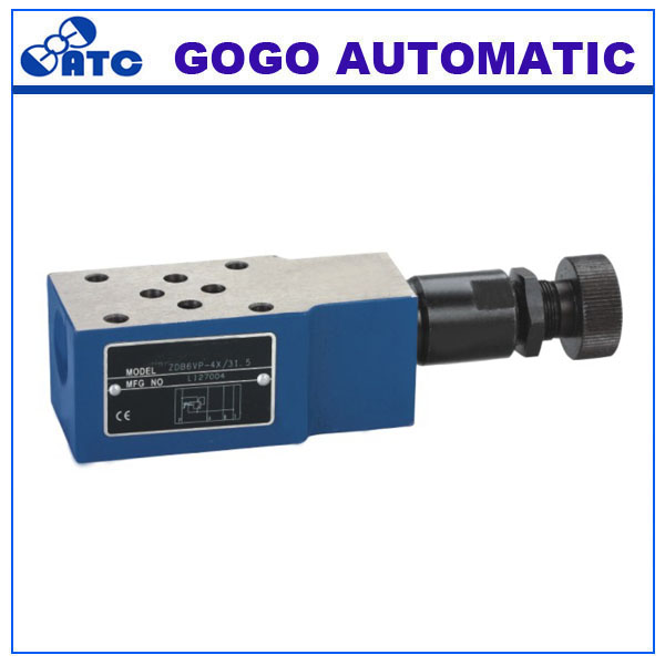 Z2DB10VD2-44/200V type pressure control valve plate structure is superimposed pilot relief valve to limit system pressure(China (Mainland))