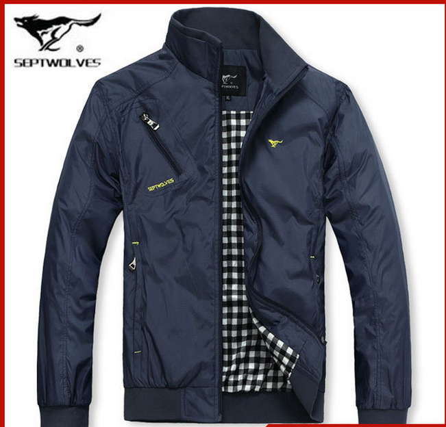 2015 Fall Mens Fashion comfortable korean Style jacket collar outerwear men s clothes plus size waterproof