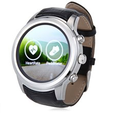 FINOW X5 1.4 inch Smartwatch Phone Android 4.4 MTK6572 Dual Core 1.2GHz 512MB RAM 4GB ROM Heart Rate Monitor Pedometer GPS WiFi(China (Mainland))