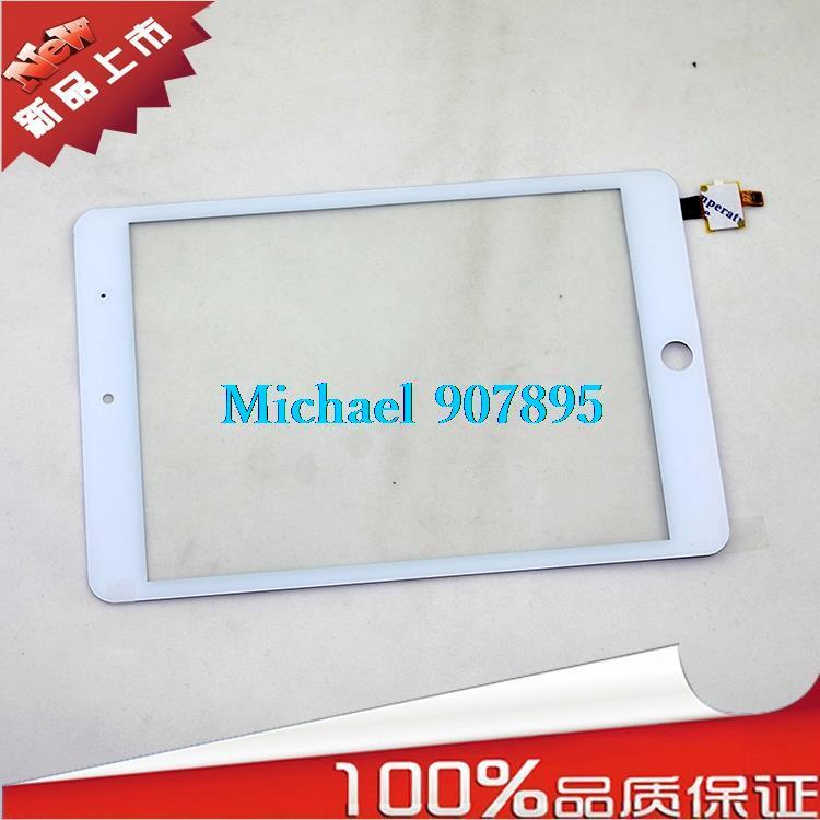 "Black White original 7.85"" 7.9inch Campacitive touch screen panel Cimi X8 X8L MTK6589T quad Core IPS Digitizer Glass Sensor(China (Mainland))"