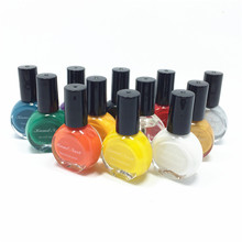 26Colors to choose 1 bottles Professional Painting Konad Nail Varnish Manicure UV Nail Polish Gel For Nail Art Stamping Print(China (Mainland))