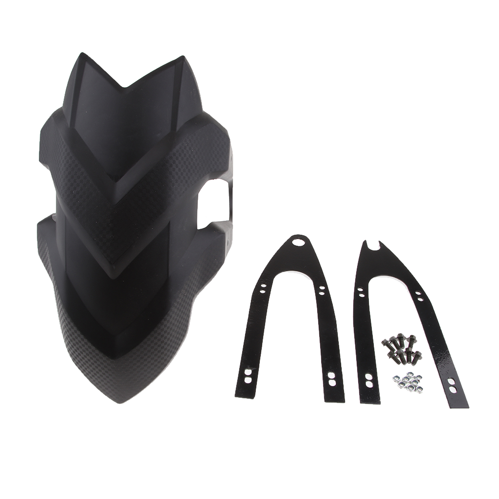 1 Pcs Motorcycle Rear Fender Bracket Mudguard Splash Guard For Honda CBF190R CB190R Kawasaki Z250 Plastic Motorbike Accessories